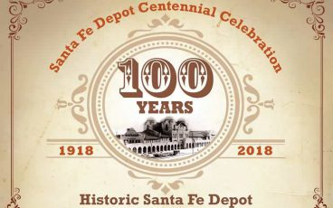 100 years Santa Fe Depot