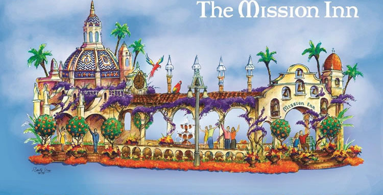 Mission Inn, Rose Parade