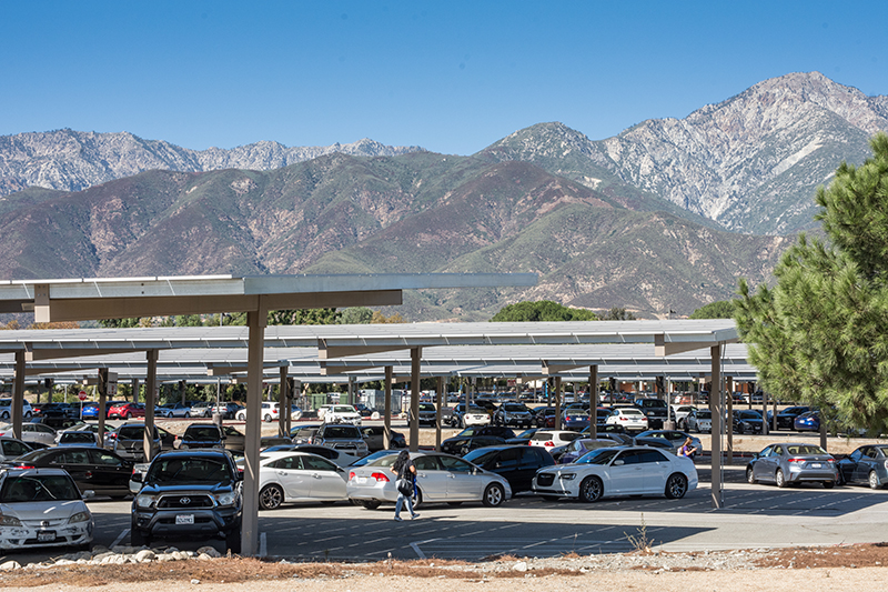 Chaffey College Solar Panel Project Receives State Board of Governors Award