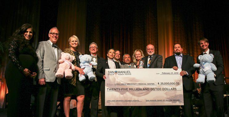 25 Million Dollar Loma Linda University Hospital San Manuel