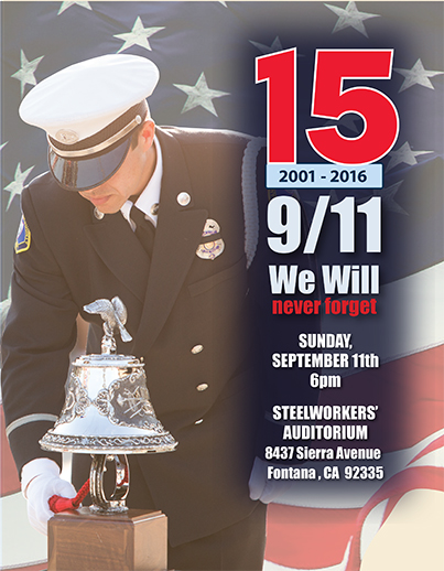 Fontana's 9/11 Remembrance Event