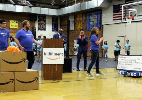 Amazon Donation to Riverside Schools