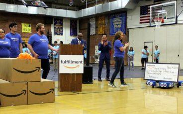 Amazon Donation to Riverside Schools