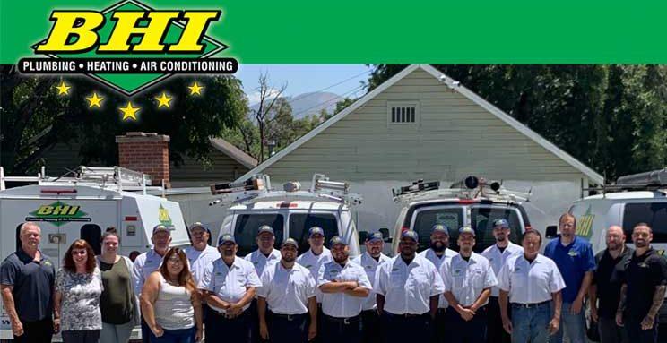 BHI Plumbing, Heating, Air - San Bernardino