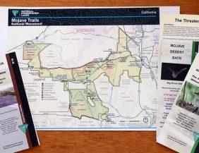 Mojave Trails Map