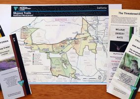 Mojave Trails Map
