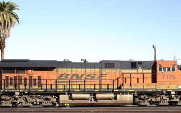 BNSF Train, Riverside
