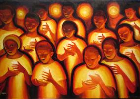 Bernard Hoyes Candlelight - SBCM