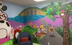 Blindness Support Mural