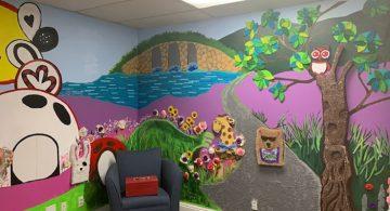 Blindness Support Mural