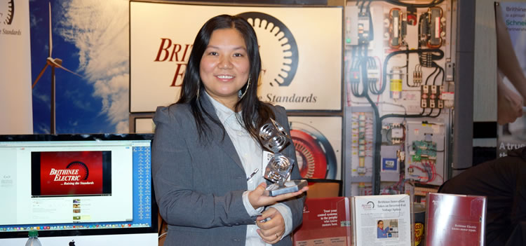 Brithinee E=MC2 award