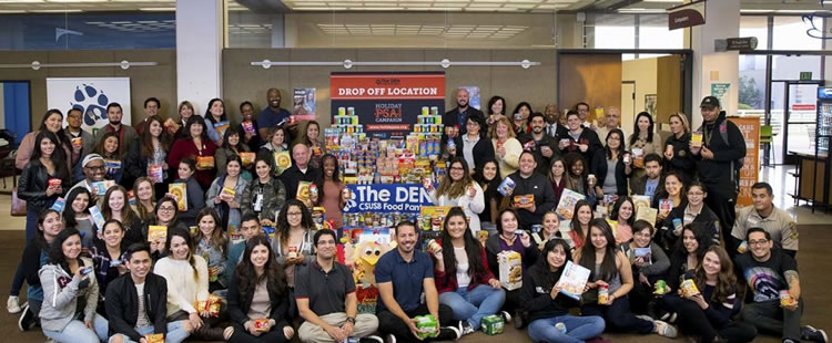 CSUSB - Donations for the Den
