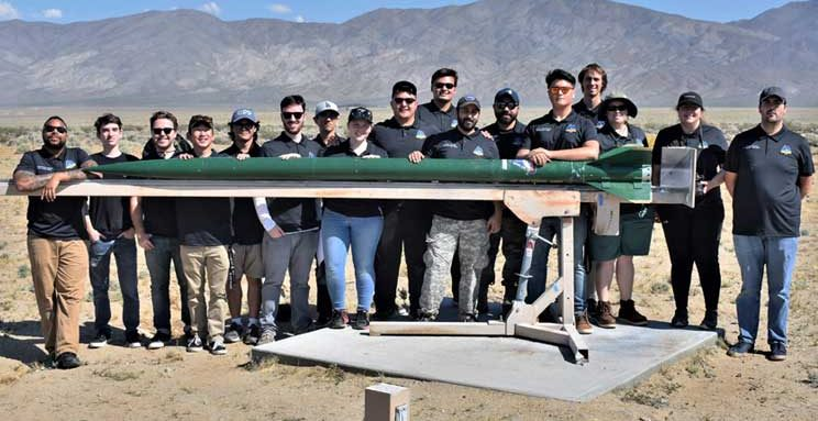 Cal Poly Pomona Rocket Team Blasts to First Place in FAR