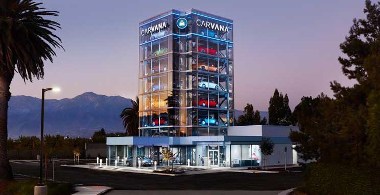 Carvana Vending Machine Opens In Ontario California