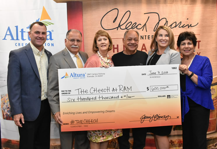 Cheech Marin, Altura Credit Gift of $600,000