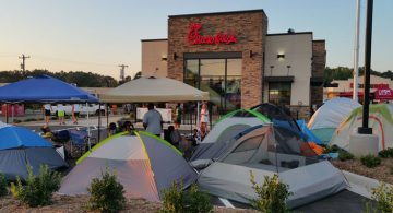 Chick-fil-A campout