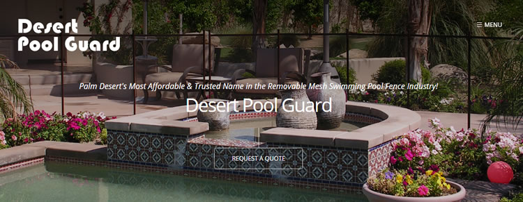 Desert Pool Fence
