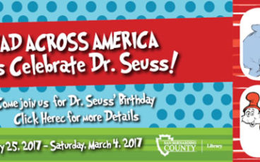 Dr. Seuss at San Bernardino County Libraries