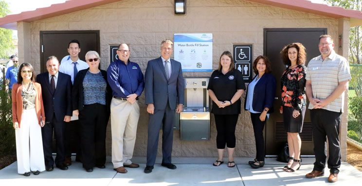 EMWD Celebrates Completion of French Valley Recycled Water Pipeline