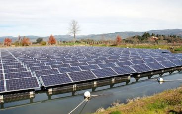 Far Niente Winery Solar Field