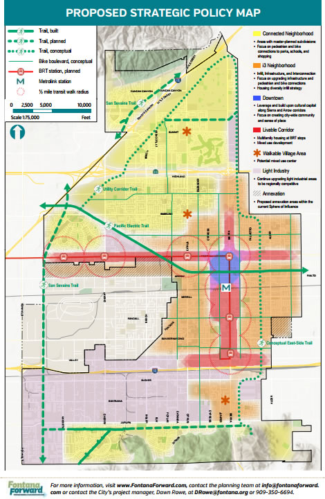 Fontana Community Vision for Land Use and Transportation on Display