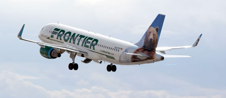 Frontier Air - Ontario Airport