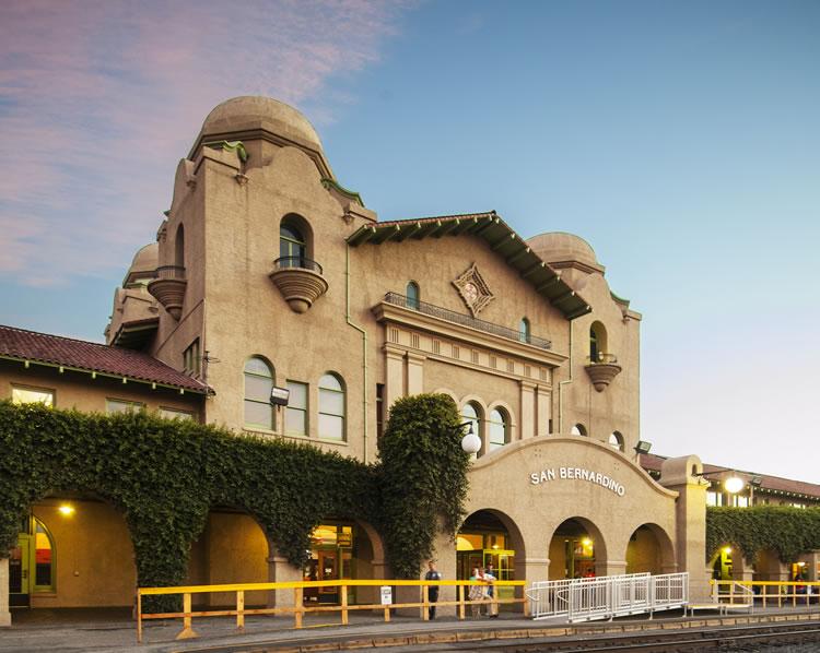 Santa Fe Depot, San Bernardino