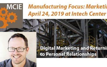 MCIE - Digital Marketing and Returning to Personal Relationships