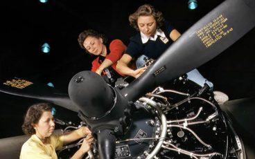 March Field Air Museum Women Mechanics