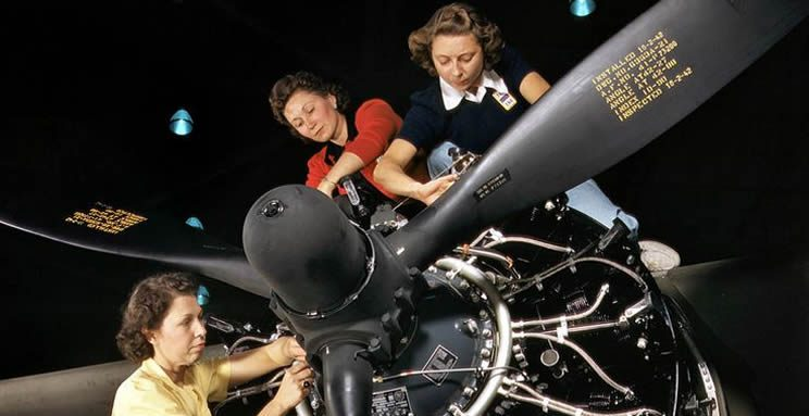 March Field Air Museum Women Mechanics