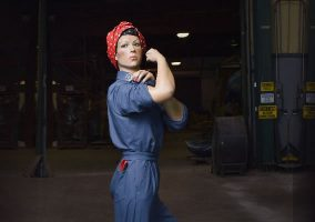 March Field Air Museum Riveter Statue