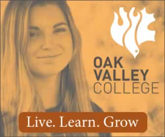 Oak Valley College - Live. Learn. Grow.