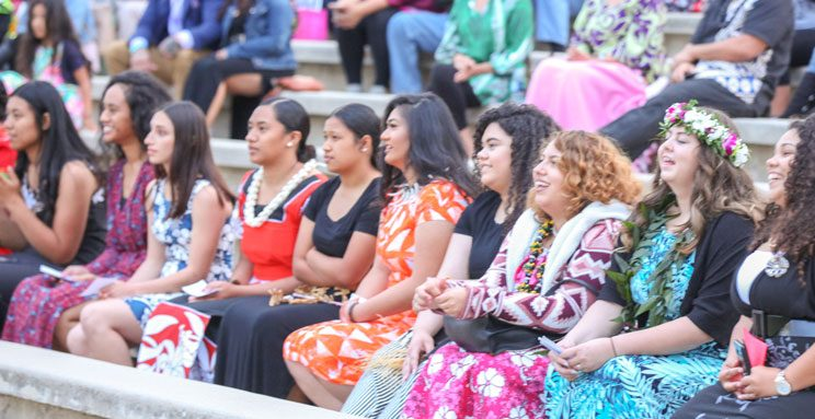 Pacific Islander High School Ceremony