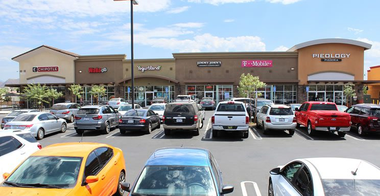 Perris California Shopping Center
