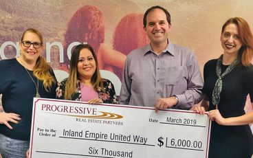 Progressive United Way Donation