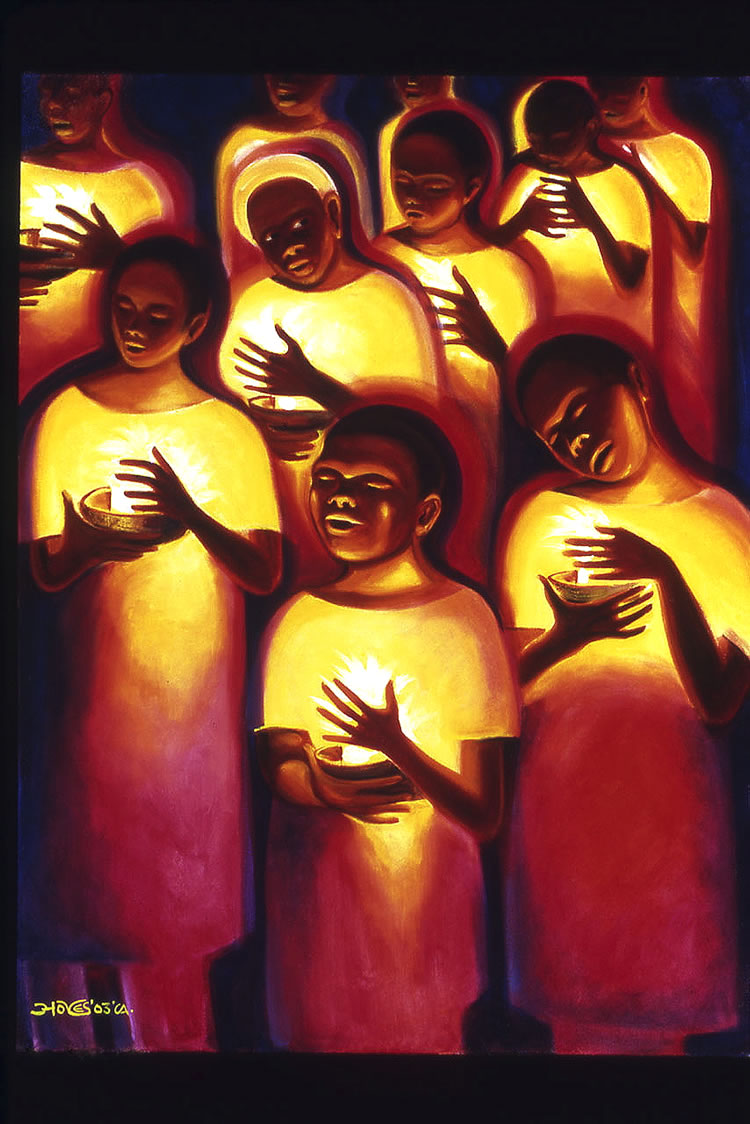 Candlelight Vigil by Hoyes