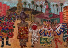 RAM Cheech Marin Exhibit Frank Romero
