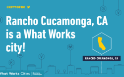 What Works Cities Rancho Cucamonga