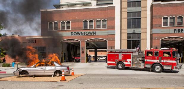 Downtown Riverside Fire