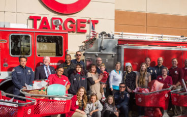 Riverside Fire, Target Children's Gifts