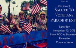 Riverside California Veterans Parade