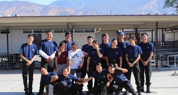 San Bernardino Police Explorers
