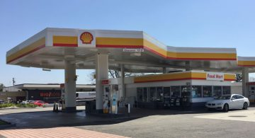 Shell Station Chino California