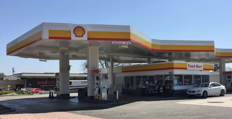 Shell Station Chino California