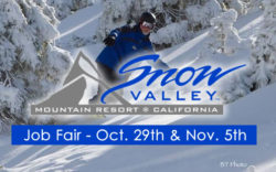 Snow Valley Mountain Resort Jobs