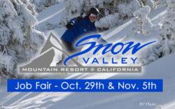 Snow Valley Mountain Resort Jobs