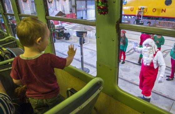 Perris: Embark on a magical train ride and visit Santa Claus at his ...