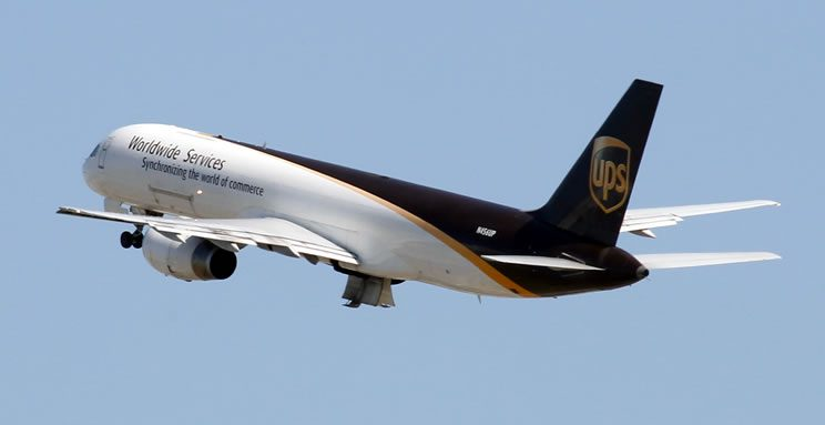 UPS - SBD Flights