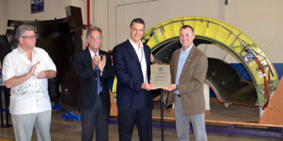 UTC Aerospace Systems Wins Riverside Green Business Program Award