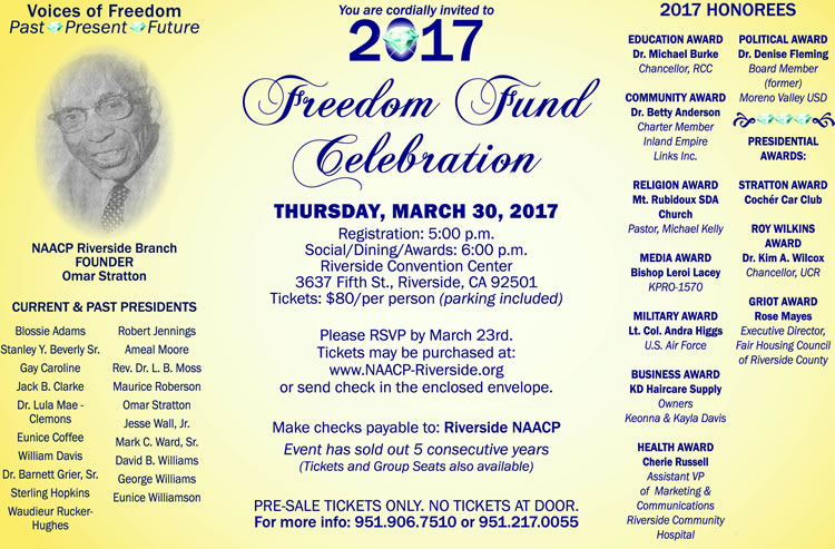 Freedom Fund Celebration